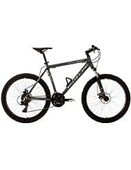 "KS Cycling Gtz VTT semi rigide Anthracite 26"""