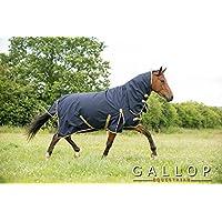 Gallop Trojan - Manta de caballo con cuello, 100g - EU 145cm
