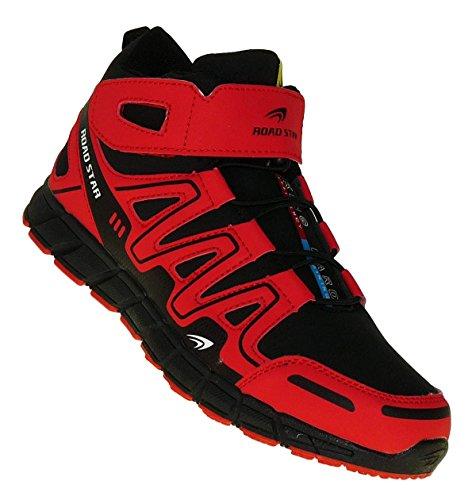 High Schuhe Skater Tops (Bootsland Art 882 High Top Outdoor Boots Stiefel Herrenstiefel Herren Schuhe Skater, Schuhgröße:45)