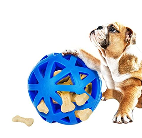 Meiying Environmental Protection Natural Rubber Dog Toys Resistant Bite Teeth Hollow Dog Toys Ball
