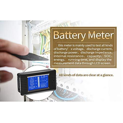 Ocamo PZEM-015 0-200 V 0-300 A Indicatore di capacità di scarica della Batteria dell'auto, Tester di Potenza, impedenza energetica, voltmetro 300 A shunt