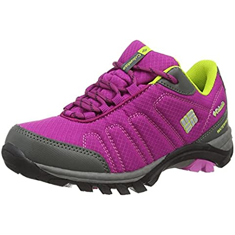 Columbia Youth Firecamp Sledder Waterproof, Zapatillas De Deporte Para Exterior Para Niñas