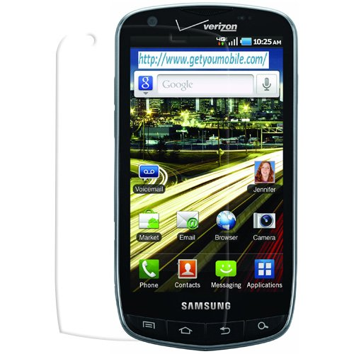 PDair Ultra Clear Screen Protector for Samsung Droid Charge SCH-i510