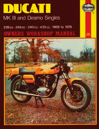 Ducati Mk.III and Desmo Singles Owner's Workshop Manual (Haynes Owners Workshop Manuals)