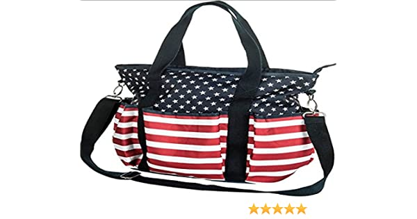HKM 572187/ Sac de toilettage Stars and Stripes M