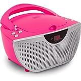 BigBen Tragbares CD/Radio CD55 Kids Pink