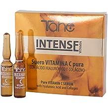 Tahe Intense Suero Lifting de Vitamina C de Acción Prolongada con Ácido Hialurónico y Colágeno,