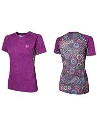 Buff Camiseta T-Shirt Alison PÚRPURA 98723602 Talla: S - mujer, violeta, L
