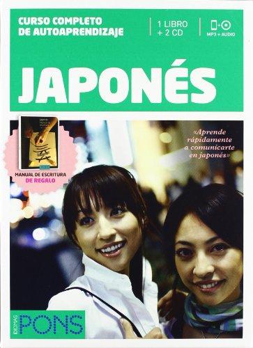 Curso Pons Japonés - 1 Libro + 2 Cd