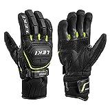 LEKI Worldcup Race Coach Flex S GTX - Handschuhe mit Trigger S - Black, Handschuhgröße Reusch & Fischer:10.5