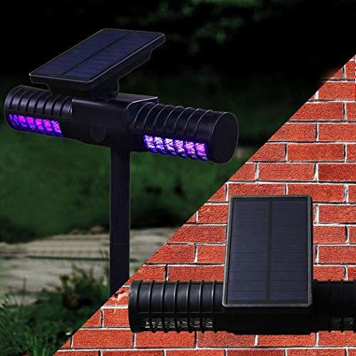 SHUAKFD Lámpara de Mosquito Lámpara de Mosquito Solar a Prueba de Agua Lámpara de LED Mosquito Asesino Insecto Asesino Cargador Solar USB 4 X Patio Jardín Luces de Camping Noche de Ocio