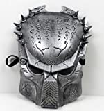 Predator Aliens vs Predator mask disguise face mask [silver] 12mm width belt with silver (japan import)