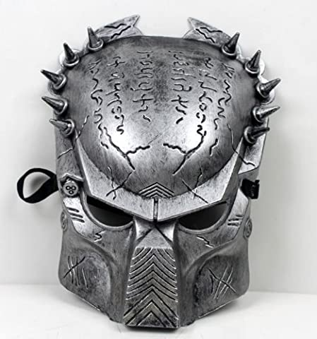 Predator Aliens vs Predator mask disguise face mask [silver] 12mm