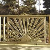 Sunshine Sonnendeck-Paneele-Modernes Sun Holz Design Druck behandelt Panel