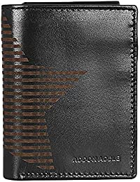 addon adele Black Tri-Fold Men's Wallet