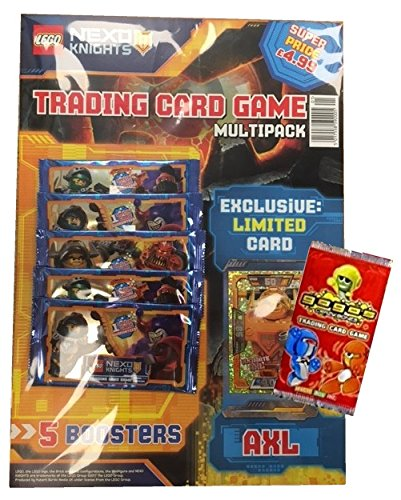 Lego Nexo Knights Trading Card Game Multipack Uk Edition
