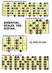 ESSENTIAL SCALES  FOR GUITAR.: Complete Scales for Beginners or Intermediate Players. (English Edition)