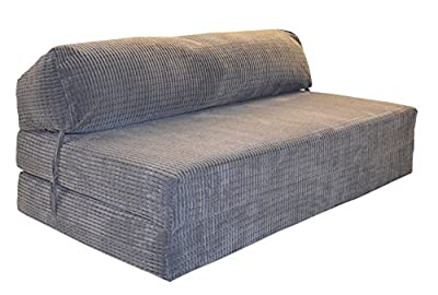 JAZZ SOFABED - CHARCOAL DA VINCI Deluxe Double Sofa Bed