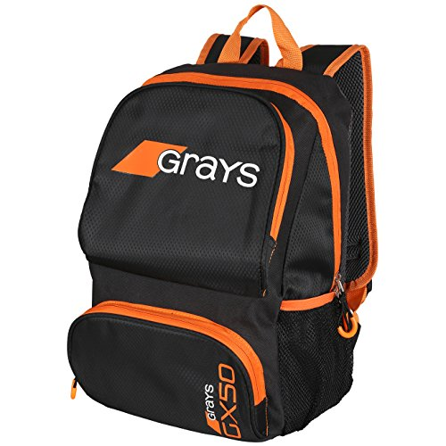 GRAYS GX50 Mochilas, Negro/Naranja, Jr
