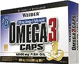 Weider, Omega 3 Caps, 1er Pack (1 x 60 Kapseln)