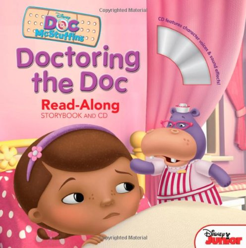 Doc McStuffins Read-Along Storybook and CD Doctoring the Doc por Lisa Ann Marsoli