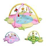 Infantastic Spieldecke Spielbogen Spielzeug Erlebnisdecke Baby-Krabbeldecke Spielmatte Spielteppich Kinder- und Babymöbel | 115x115cm