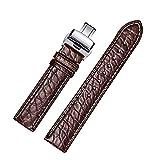 Bracelets de Montre jiexima Alligator Cuir Rond de Remplacement de modèle avec...