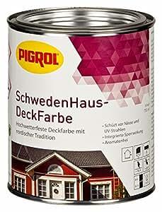 schwedenhaus deckfarbe farbton schwedenrot 2 5 ltr. Black Bedroom Furniture Sets. Home Design Ideas