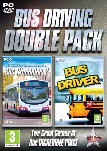Bus Driving Double Pack - Bus Simulator and Bus Driver (PC DVD) [UK IMPORT]