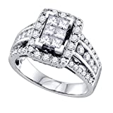 GD Damen 1,50 ctw Diamant-Ring,