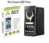 AA19 9H Hardness, 2.5D D Tempered Glass For Lenovo K8 Note / Killer Note