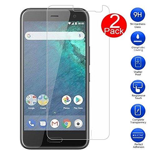 [2 Pack] HTC U11 Life Protectores de Pantalla, MaxKu 3D Touch Compatibles 9H Dureza Anti-Explosion,Water,Oil,Fingerprints 0.33mm Cristal Vidrio Templado Premium Para HTC U11 Life