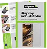 dipos I 2X Schutzfolie matt passend für Doogee V Folie Bildschirmschutzfolie