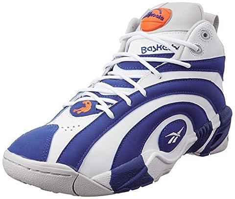 Reebok CLASSIC PUMP SHAQNOSIS Blue White Men Basketball Shoes