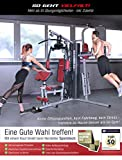 Sportstech Einzigartige 45in1 Premium Kraftstation HGX100/HGX200 für unzählige Trainingsvarianten Multifunktions-Homegym mit Stepper, Fitnessstation aus Eva Material für Zuhause- Robuste Konstruktion - 4