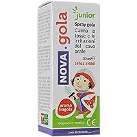 Nova Rachen Spray Junior 30ml Aroma Erdbeere ohne Alkohol von 1Jahr in auf preisvergleich bei billige-tabletten.eu