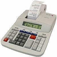 Olympia CPD 512 - Calculadora con impresora (12 dígitos, pantalla LCD verde y roja, 210 x 295 x 67 mm)