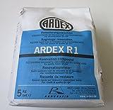 ARDEX R1 Renovierungsspachtel 5kg mit ARDURAPID-EFFEKT. Enthält Zement. Zum Glätten und Spachteln von Wand- und Deckenflächen im Renovierungs- und Neubaubereich.