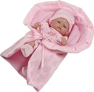 Berbesa - Mini muñeca recién Nacido (2502R)