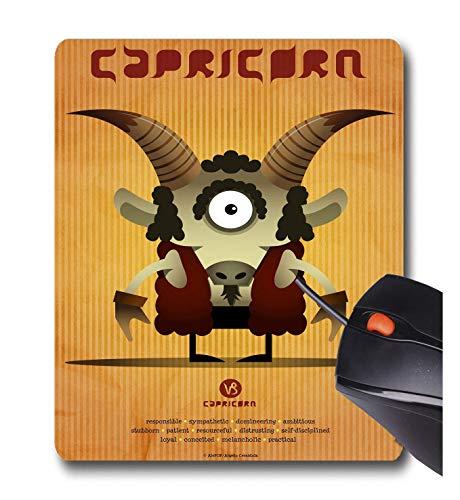 Angelo Cerantola Capricorn - Alfombrilla de ratón de Goma Antideslizante para Juegos