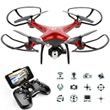 Goolsky Dongmingtuo X8 Drone Wifi FPV 2.4G Droni telecamera 720P RC Quadcopter...