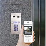 Citofono con wifi e campanello, per iPhone/Android, sopra...