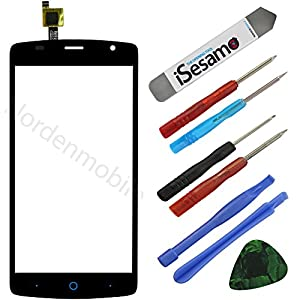 ZTE BLADE L5 Plus Touchscreen Glas Display Digitizer Schwarz + Klebefolie