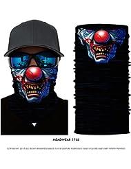 Pañuelo bandana multiuso Calavera Clown
