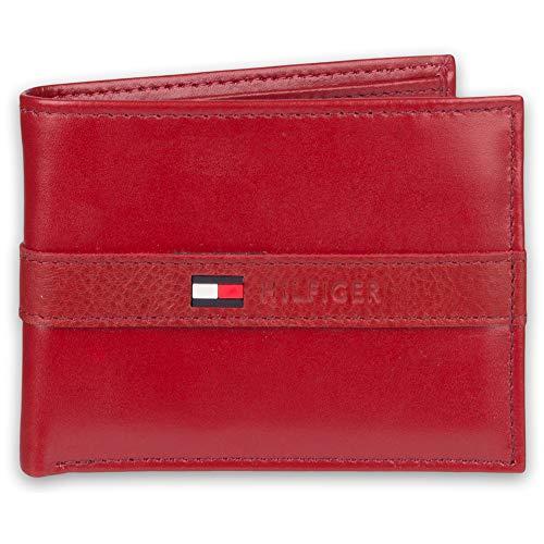 Tommy Hilfiger - Billetera hombre 6 bolsillos tarjetas