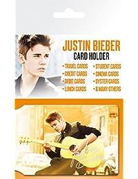 Justin Bieber - Belieber Tarjeteros Para Tarjetas De Crédito (10 x 7cm)