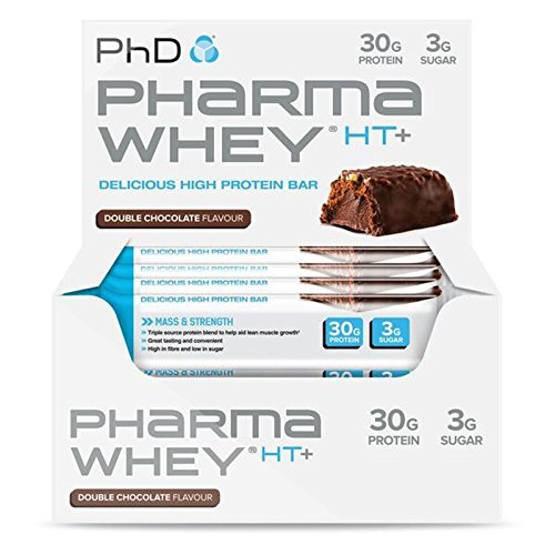 PhD Nutrition 75 g Cookies and Cream Pharma Whey HT Plus - Pack of 12
