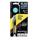 BLUFIXX MGS - DUNKELBRAUN - für Metall, Glas und Stein - NACHFÜLLKARTUSCHE