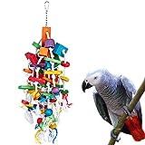 KINTOR Bird Mastication Grand Medium-Jouet Perroquet Cage Bite Toys Gris du Gabon...