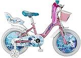 Altec Eisfee Mädchenrad Rosa-Türkis 16 Zoll